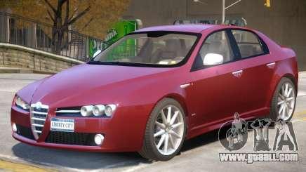 Alfa Romeo 159 TI V2 for GTA 4