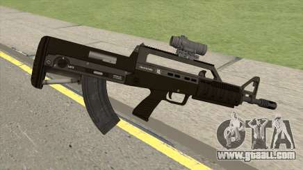 Bullpup Rifle (With Scope V1) GTA V for GTA San Andreas