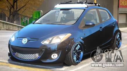 Mazda 2 V1.1 for GTA 4
