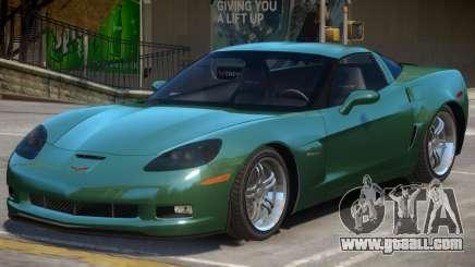 Chevrolet Corvette C6 Z06 World for GTA 4