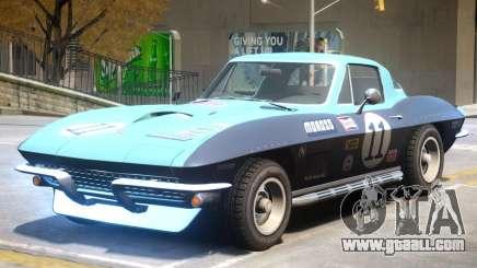 Chevrolet Corvette C2 PJ1 for GTA 4