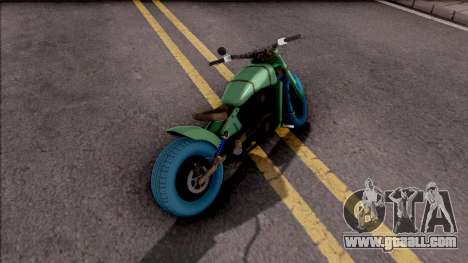 GTA Online Arena Wars Nightmare Deathbike Stock for GTA San Andreas