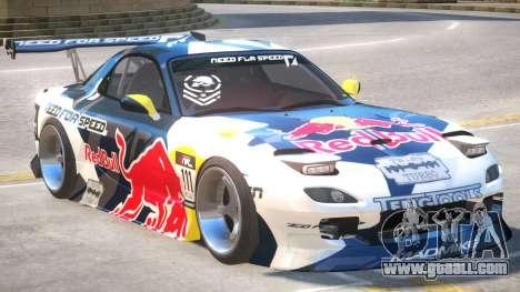 Mazda RX-7 V1.2 PJ2 for GTA 4