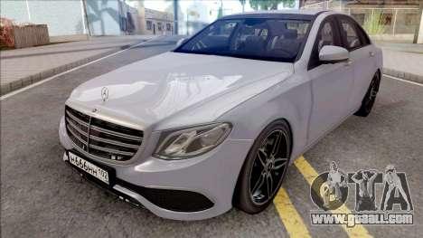 Mercedes-Benz E200 W213 for GTA San Andreas