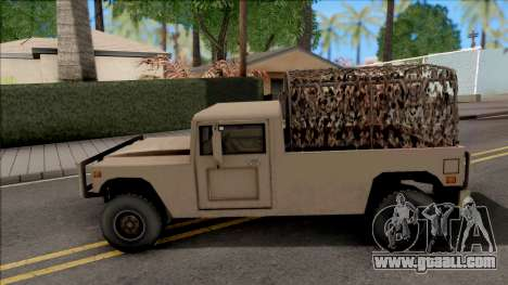 GTA V Mammoth Squaddie SA Style for GTA San Andreas
