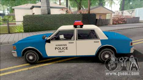 Police LV Hawkins PD from Stranger Things for GTA San Andreas