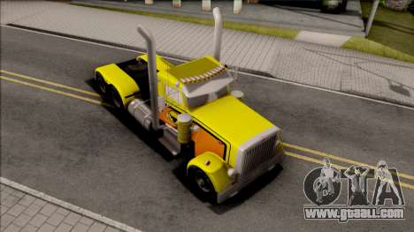 Peterbilt 379 Livingston Truck Convoy for GTA San Andreas