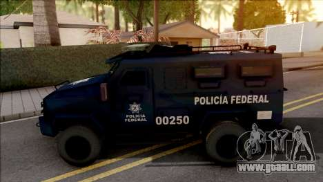 Lenco Bearcat G3 Policia Federal for GTA San Andreas