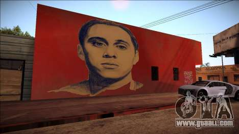 Canserbero Graffiti for GTA San Andreas