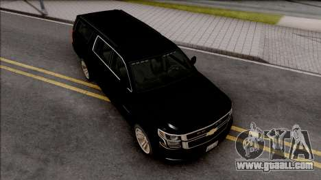 Chevrolet Suburban LTZ 2015 for GTA San Andreas