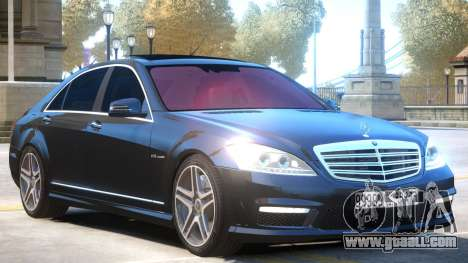 Mercedes Benz S65 AMG for GTA 4