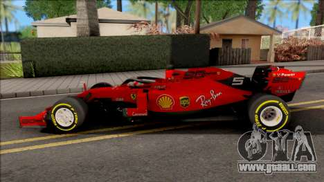 F1 Ferrari 2019 for GTA San Andreas