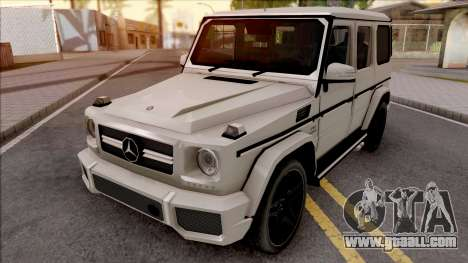 Mercedes-Benz G65 AMG Low Poly for GTA San Andreas