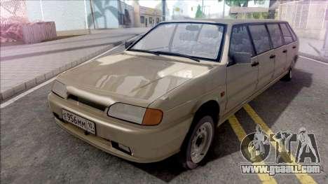 ВАЗ 2114 Limousine for Full CJ Gang for GTA San Andreas