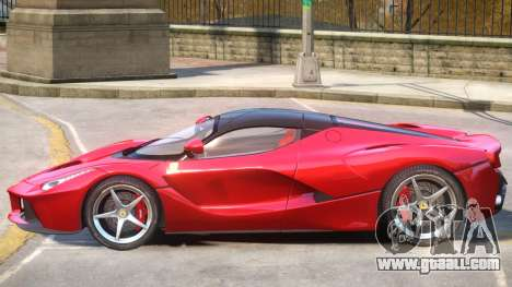 Ferrari LaFerrari Upd for GTA 4