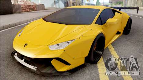 Lamborghini Huracan Performante for GTA San Andreas