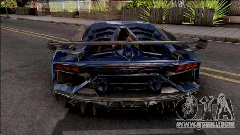 Lamborghini Aventador SVJ 2019 for GTA San Andreas