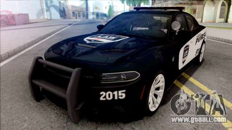 Dodge Charger SRT 2015 Pursuit for GTA San Andreas