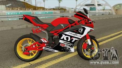 Minerva Megelli 250 for GTA San Andreas