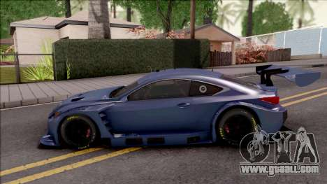 Lexus RC F GT3 2017 for GTA San Andreas
