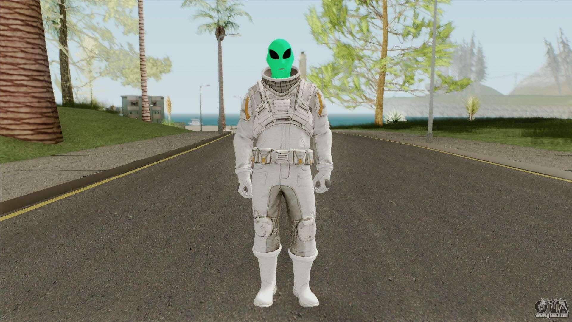 Alien (GTA Online) For GTA San Andreas