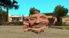 Mikhail Shufutinsky Funny Smiling Flying Teapot for GTA San Andreas