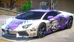 Lamborghini Aventador V1 PJ1 for GTA 4