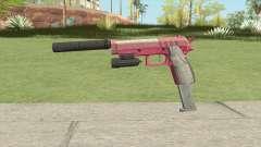 Hawk And Little Pistol GTA V (Pink) V3 for GTA San Andreas
