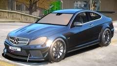 Mercedes Benz C63 Custom for GTA 4