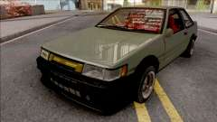 Toyota AE86 Levin Coupe Vision TopTeen for GTA San Andreas
