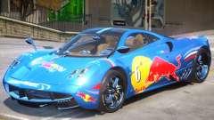 Pagani Huayra furious V1 PJ1 for GTA 4