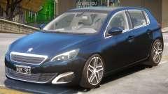 Peugeot 308 V1.2 for GTA 4