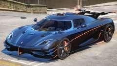 Koenigsegg One Improved for GTA 4