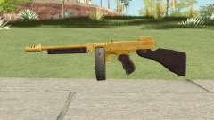 Edinburgh Gusenburg Sweeper GTA V (Gold) V1 for GTA San Andreas