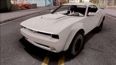 GTA V Bravado Gauntlet Hellfire SA Style for GTA San Andreas