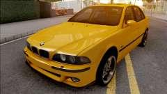 BMW M5 E39 Yellow for GTA San Andreas