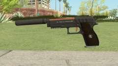 Hawk And Little Pistol GTA V (Orange) V6 for GTA San Andreas
