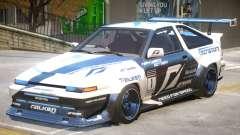 Toyota Corolla GTS for GTA 4