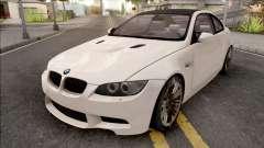 BMW M3 E92 2008 White for GTA San Andreas