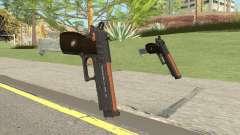 Hawk And Little Pistol GTA V (Orange) V2 for GTA San Andreas