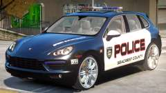 Porsche Cayenne Police