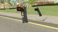 Hawk And Little Pistol GTA V Black (New Gen) V4 for GTA San Andreas