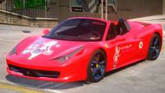 Ferrari 458 PJ for GTA 4