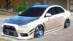 Mitsubishi Lancer Evolution X GSR for GTA 4