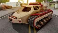 GTA V HVY Scarab FS Track Weels Moving IVF for GTA San Andreas