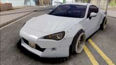 Toyota GT86 Rocket Bunny Low Poly for GTA San Andreas