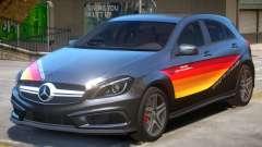 Mersedes Benz A45 PJ2 for GTA 4