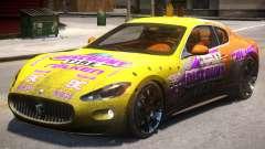 2012 Maserati Granturismo PJ1 for GTA 4