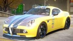 Alfa Romeo Competizione PJ for GTA 4
