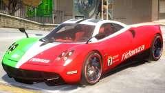 Pagani Huyara V1 PJ2 for GTA 4